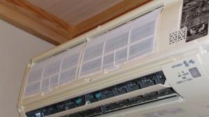 内部の洗浄が終わればカバー本体、フィルターの取付